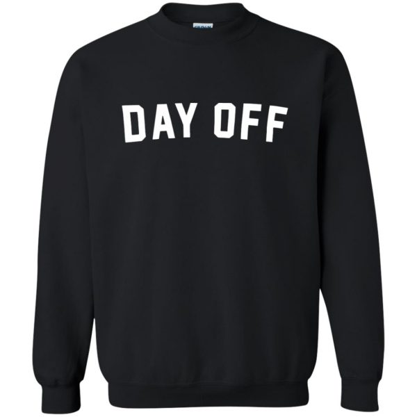 day off sweatshirt - black