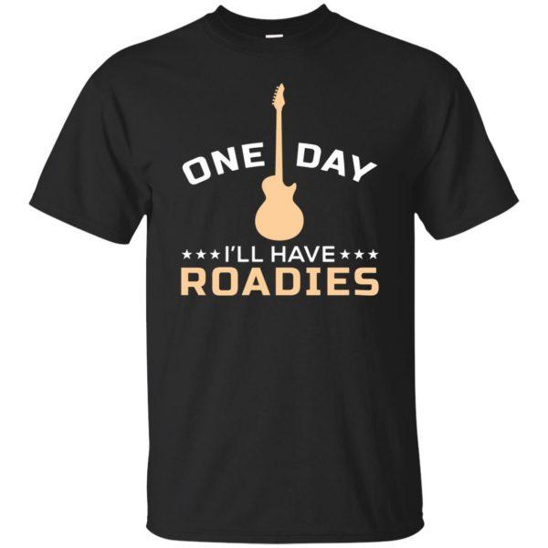 roadie t shirts - black