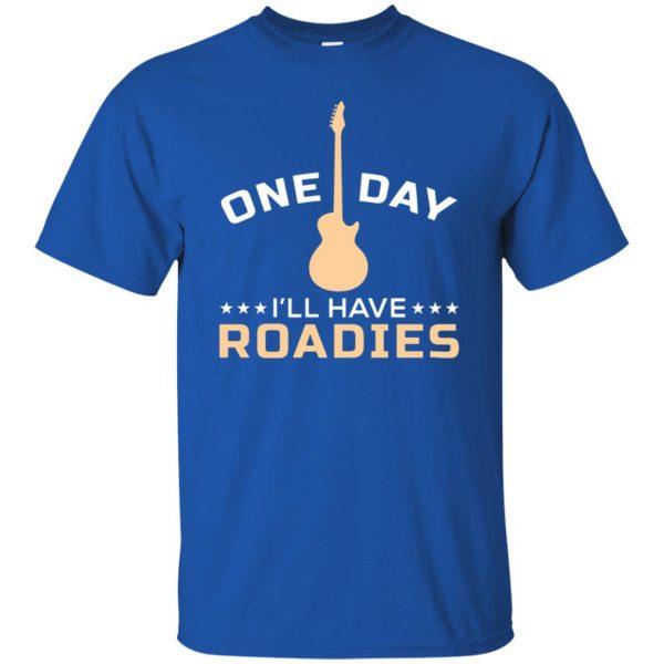 roadie t shirt - royal blue