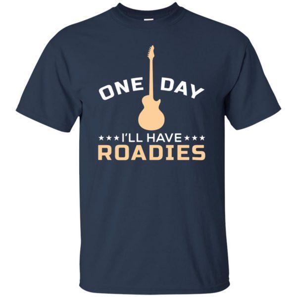 roadie t shirt - navy blue