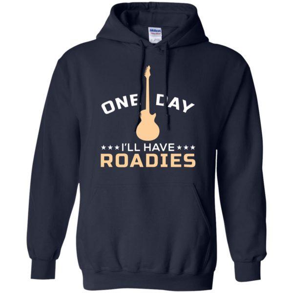 roadie hoodie - navy blue