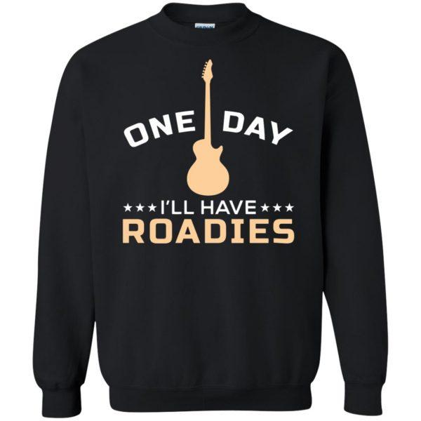 roadie sweatshirt - black
