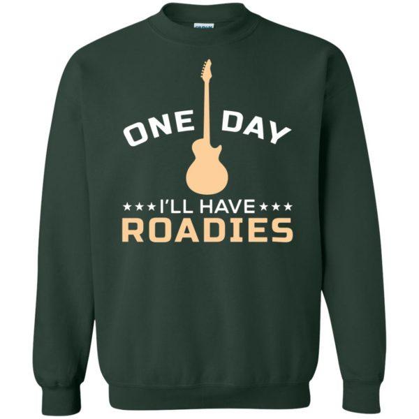 roadie sweatshirt - forest green