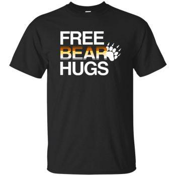 free bear hugs shirt - black