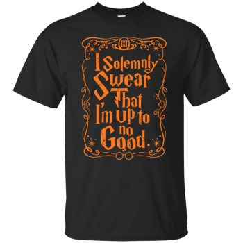 i solemnly swear hoodie - black