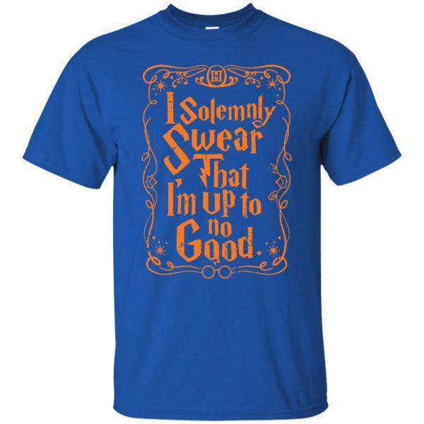 i solemnly swear t shirt - royal blue