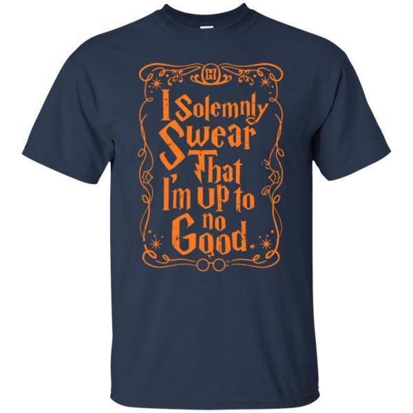 i solemnly swear t shirt - navy blue
