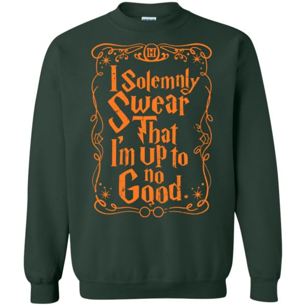 i solemnly swear sweatshirt - forest green