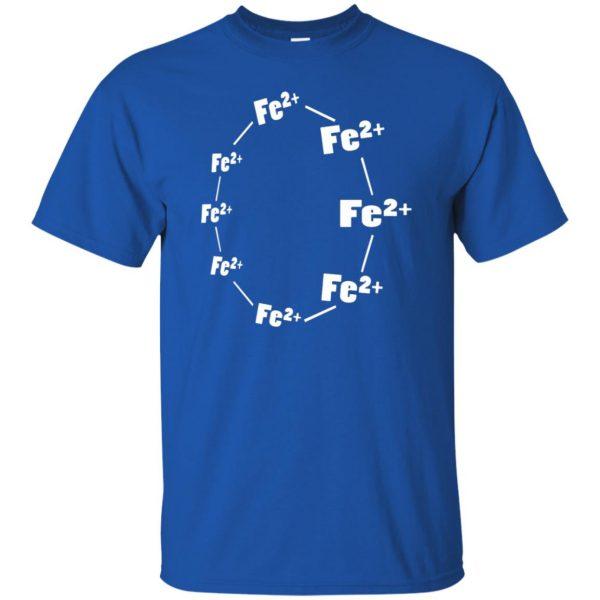 ferrous wheel t shirt - royal blue