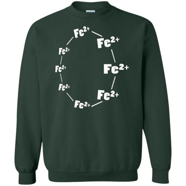 ferrous wheel sweatshirt - forest green