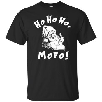 ho ho ho t shirt - black