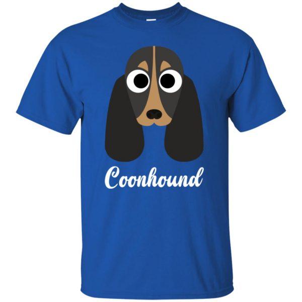 coonhound t shirt - royal blue