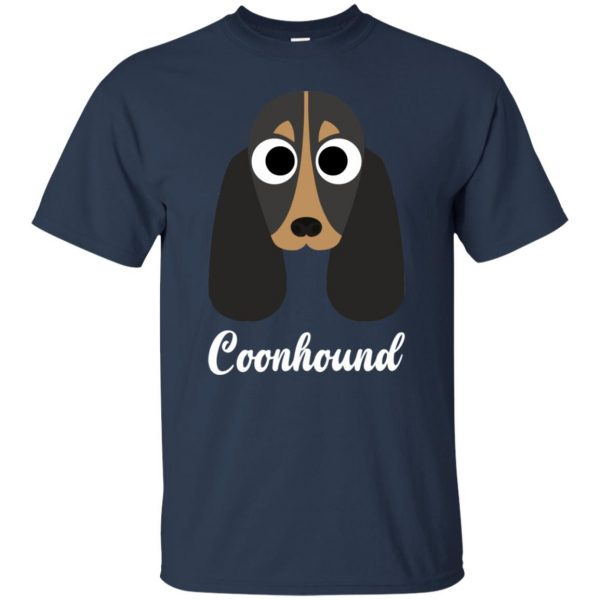 coonhound t shirt - navy blue