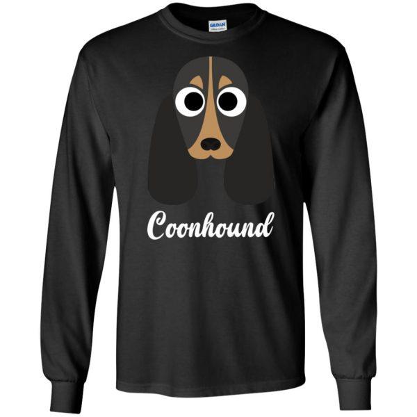 coonhound long sleeve - black