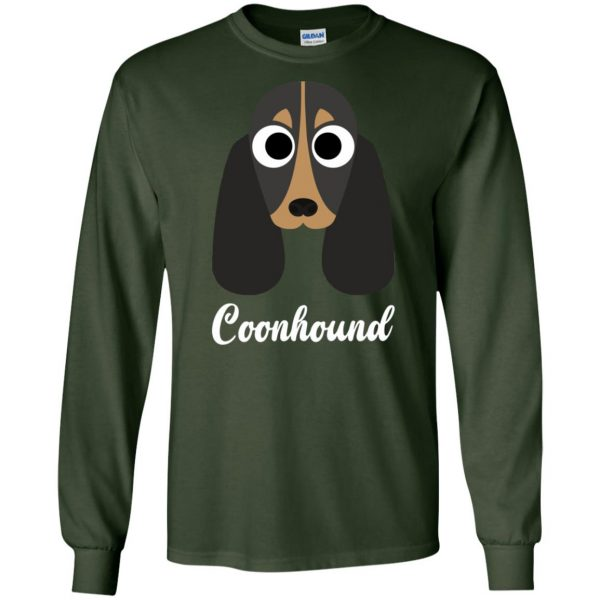 coonhound long sleeve - forest green