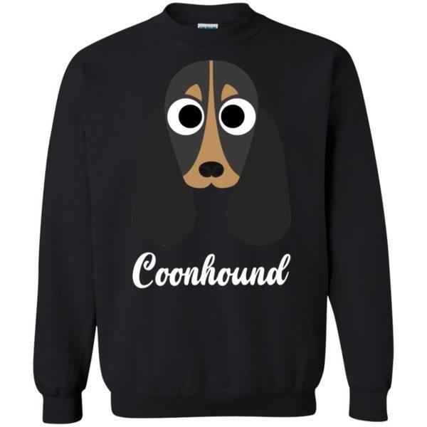 coonhound sweatshirt - black