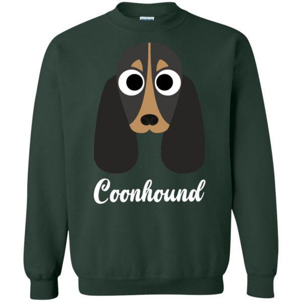 coonhound sweatshirt - forest green
