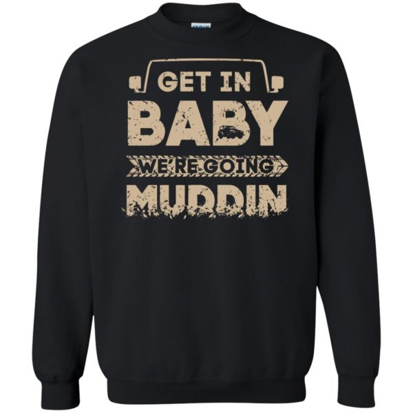 muddin sweatshirt - black