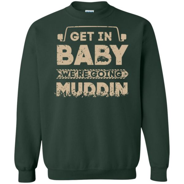 muddin sweatshirt - forest green