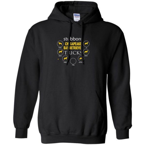 chesapeake bay retriever hoodie - black