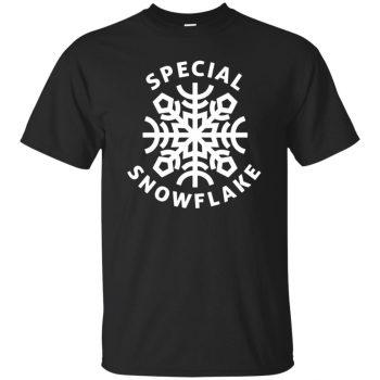 special snowflake t shirt - black