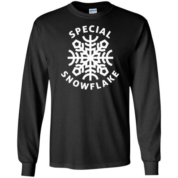 special snowflake long sleeve - black