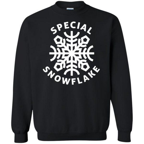 special snowflake sweatshirt - black