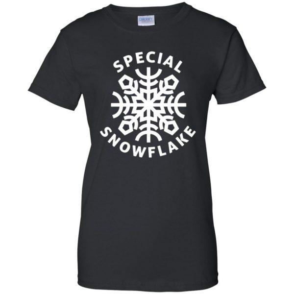 special snowflake womens t shirt - lady t shirt - black