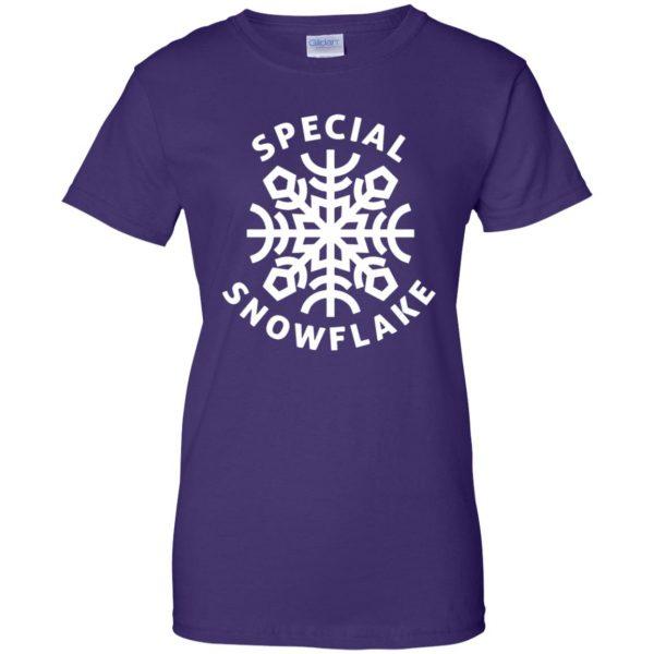 special snowflake womens t shirt - lady t shirt - purple