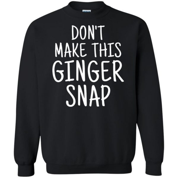ginger snap sweatshirt - black