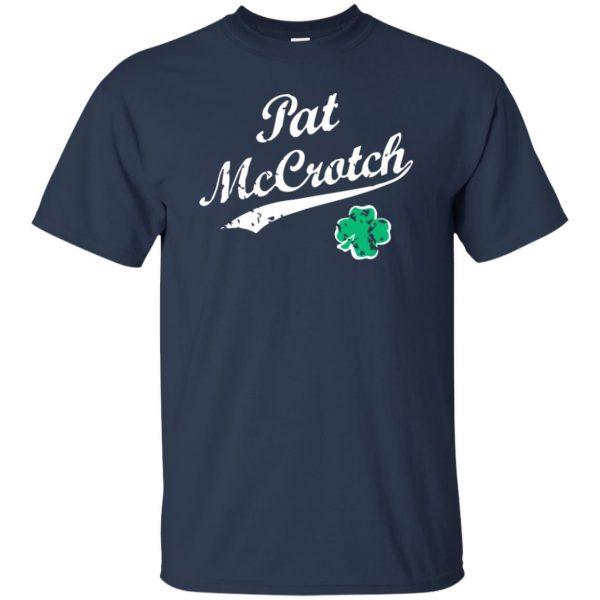 pat mccrotch t shirt - navy blue