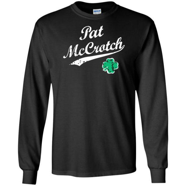 pat mccrotch long sleeve - black