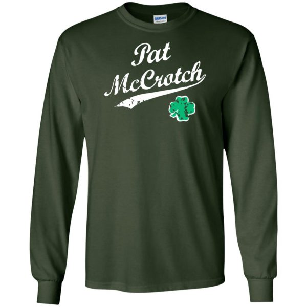 pat mccrotch long sleeve - forest green