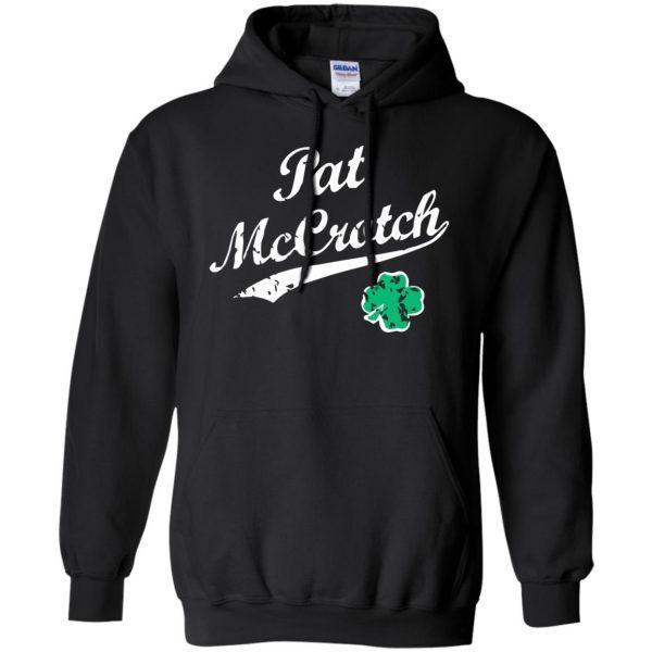 pat mccrotch hoodie - black