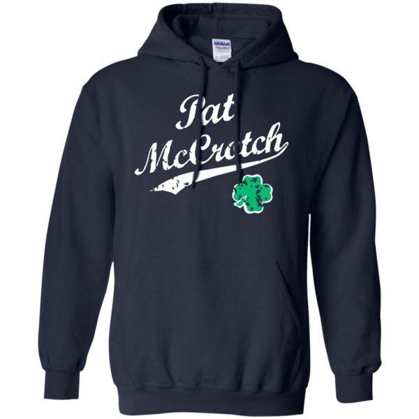 pat mccrotch hoodie - navy blue