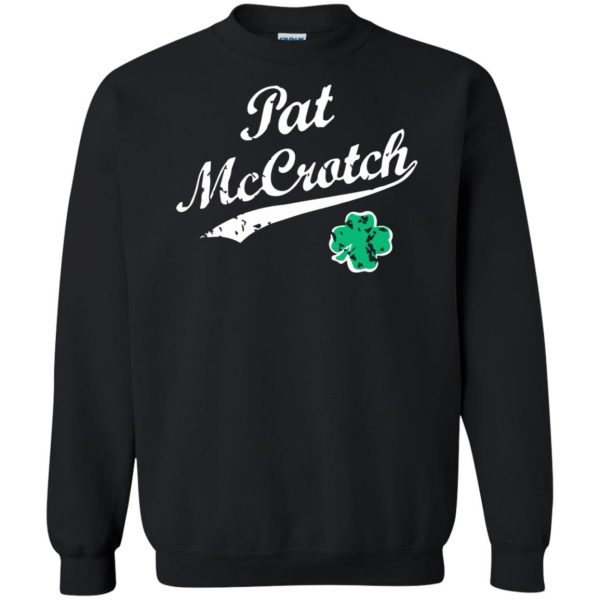 pat mccrotch sweatshirt - black