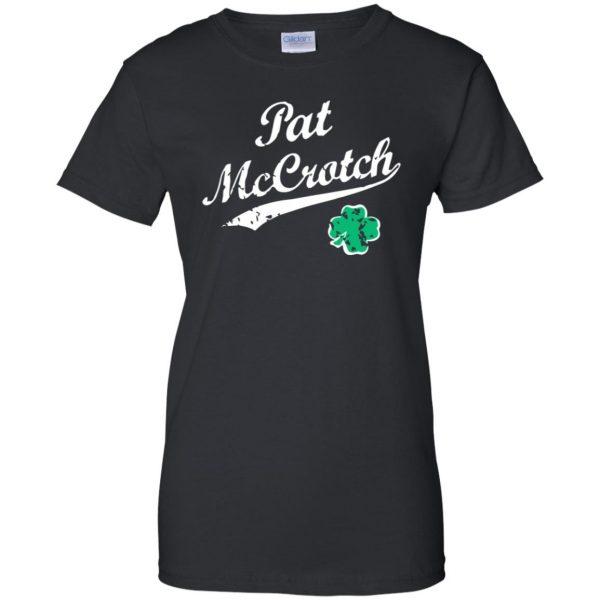 pat mccrotch womens t shirt - lady t shirt - black