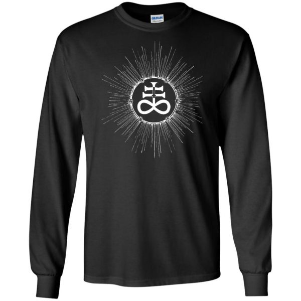 leviathan cross long sleeve - black