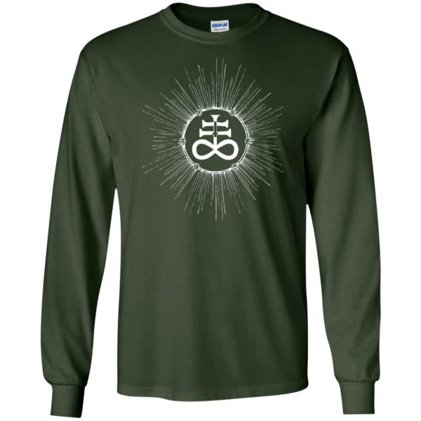 leviathan cross long sleeve - forest green