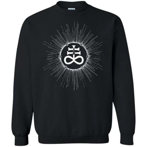 leviathan cross sweatshirt - black
