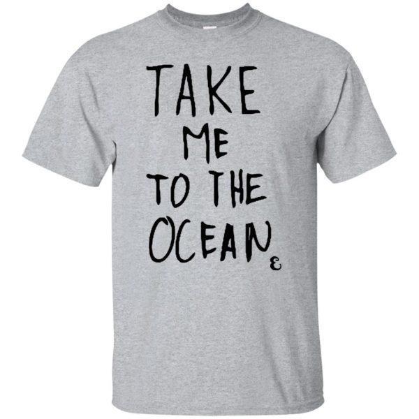 take me to the ocean shirt - sport grey