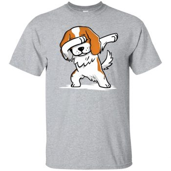 cavalier king charles t shirt - sport grey