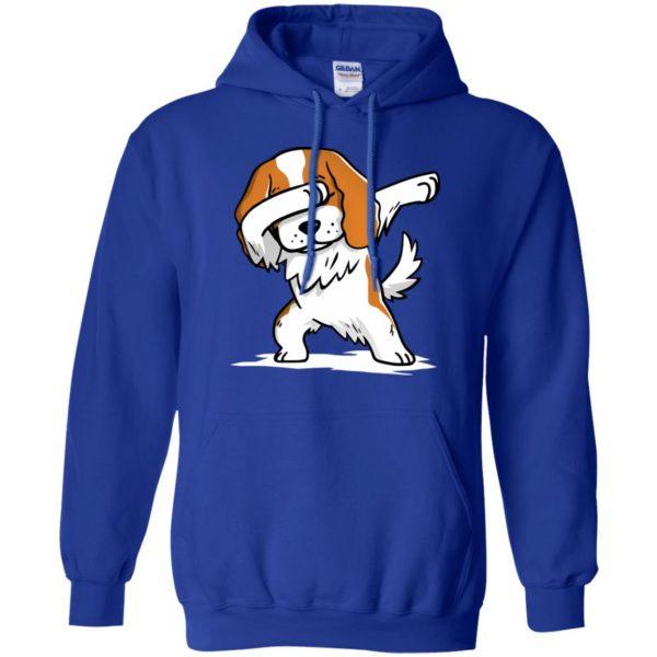cavalier king charles hoodie - royal blue