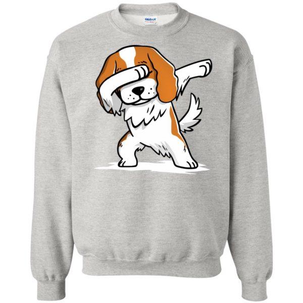 cavalier king charles sweatshirt - ash