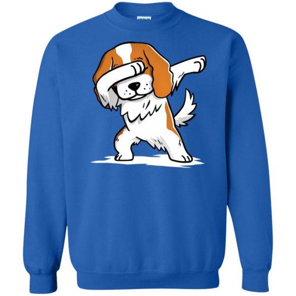 cavalier king charles sweatshirt - royal blue