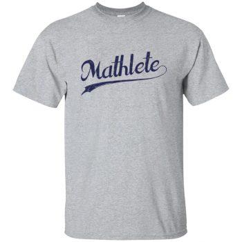 mathlete t shirt - sport grey