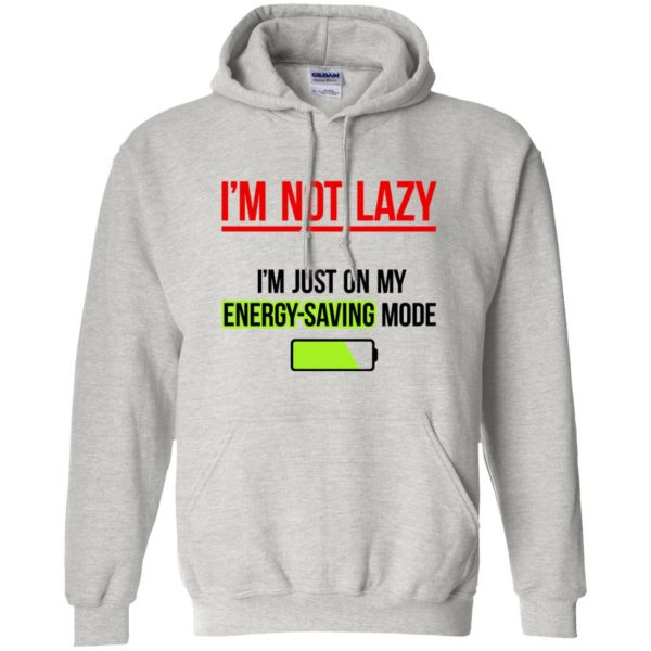 im not lazy hoodie - ash