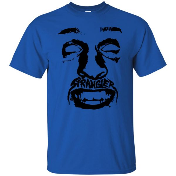 punk rock t shirt - royal blue