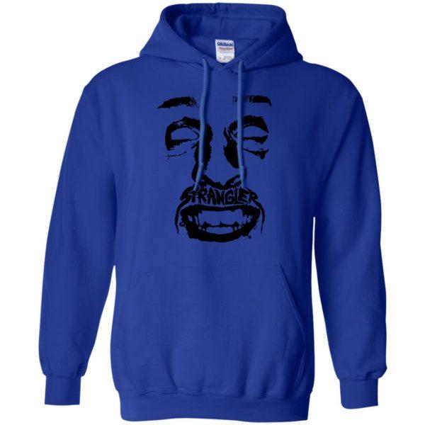 punk rock hoodie - royal blue