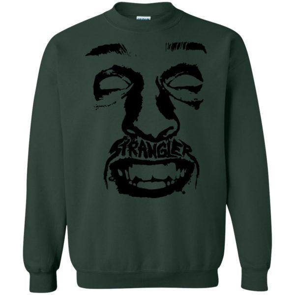 punk rock sweatshirt - forest green